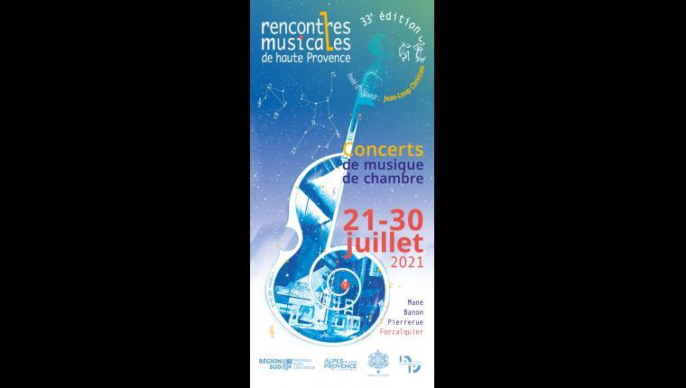 rencontres musicales de haute provence 2021